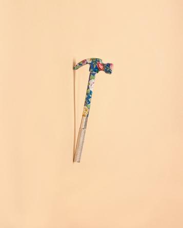 Floral Hammer, 2014 Archival Inkjet Print 16 x 20